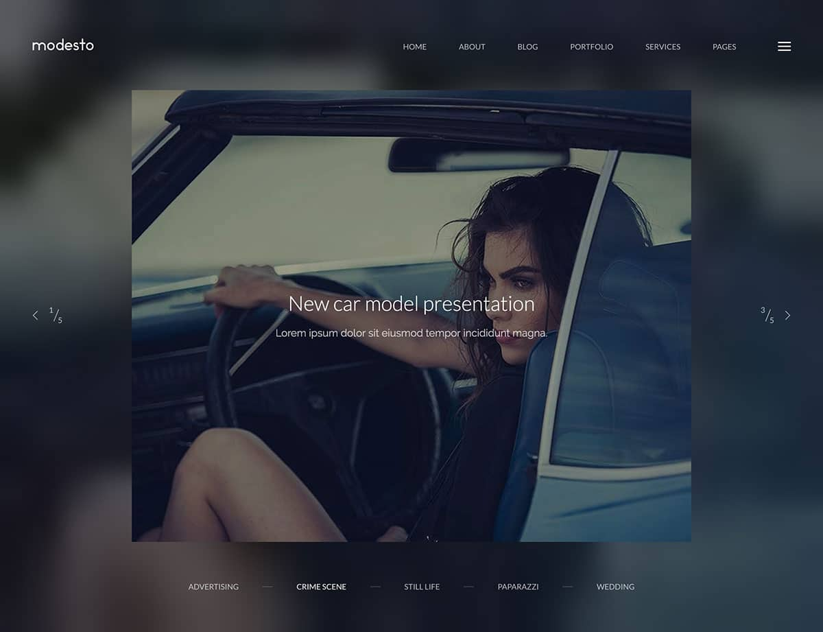 modesto-minimal-wordpress-theme