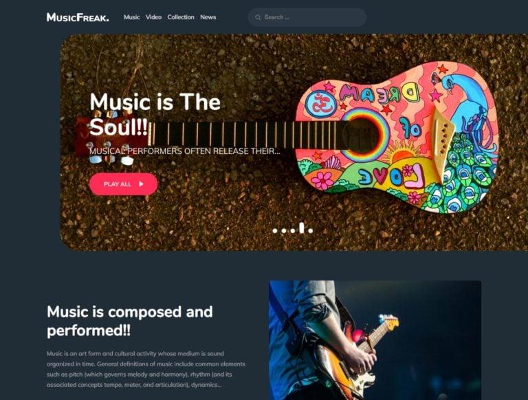 10 Best Free Music Wordpress Themes 2020 Athemes