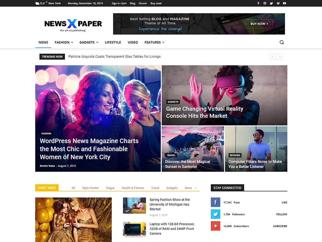 Top 16 Most Popular Premium WordPress Themes 2021, Vectribe