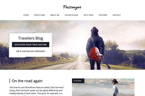 Passenger-Travelers-WordPress-Theme
