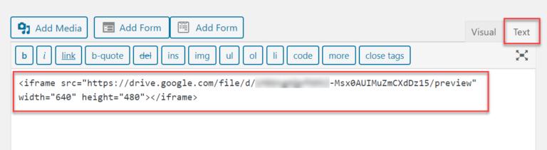 Paste HTML