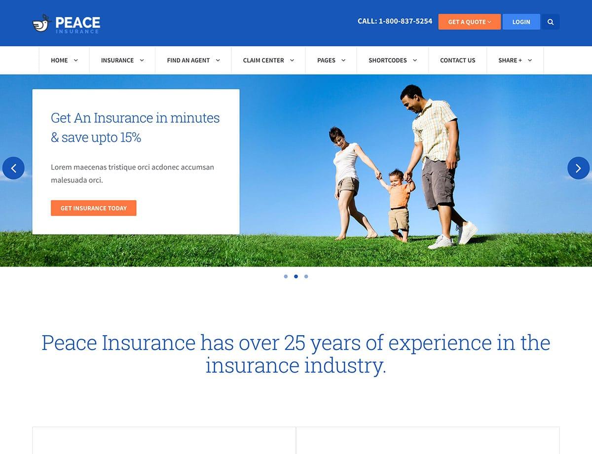 peace-insurance-agency-wordpress-theme