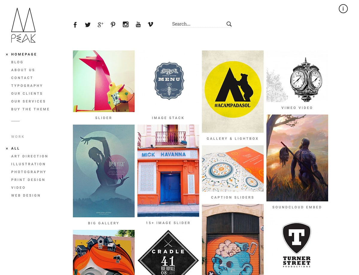 30 best portfolio wordpress themes 2016 athemes. Black Bedroom Furniture Sets. Home Design Ideas