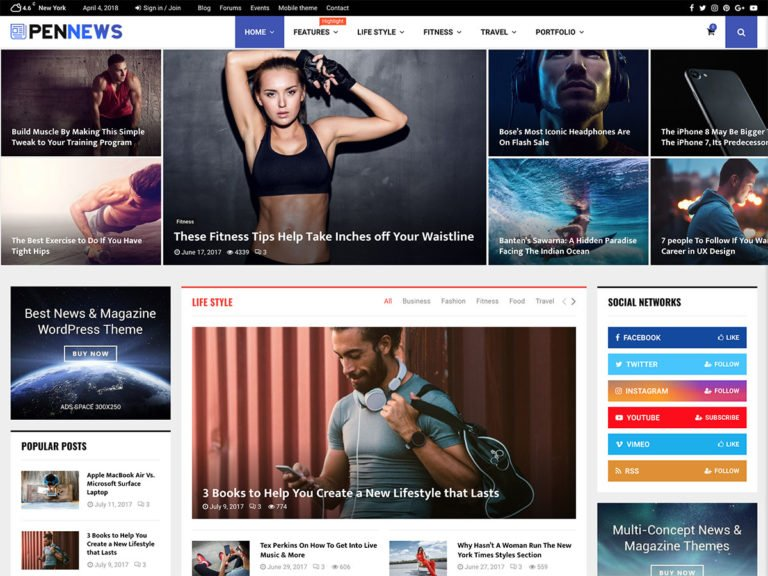 35 Best Magazine Wordpress Themes 2021 Athemes