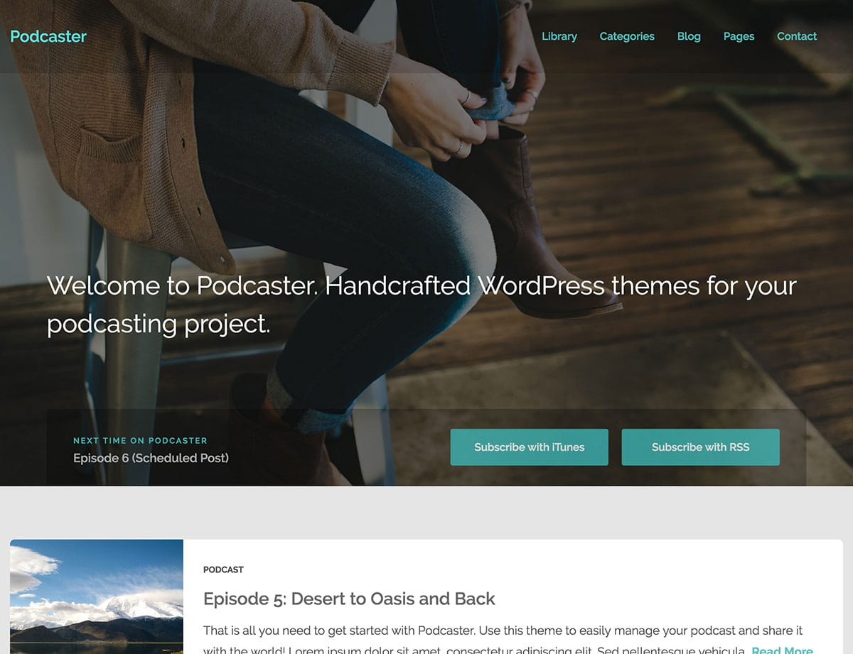 Podcaster-WordPress-Theme