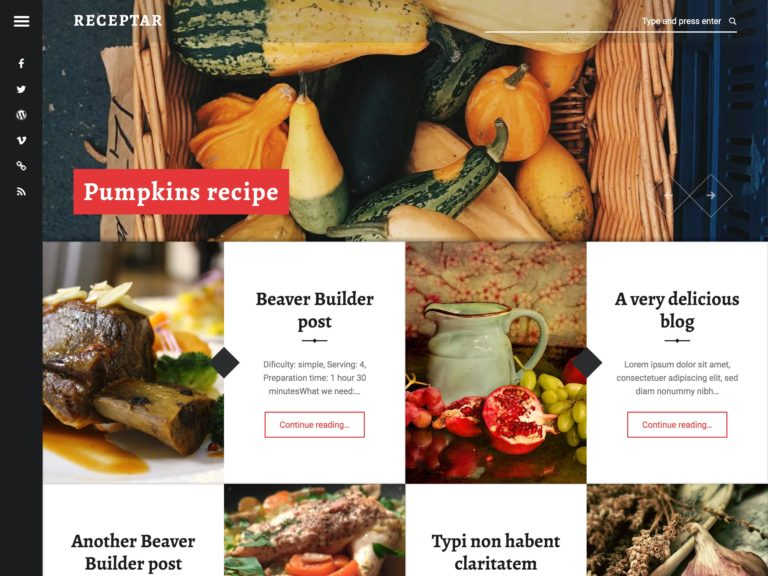 Best Free Food Blog Themes, featured image