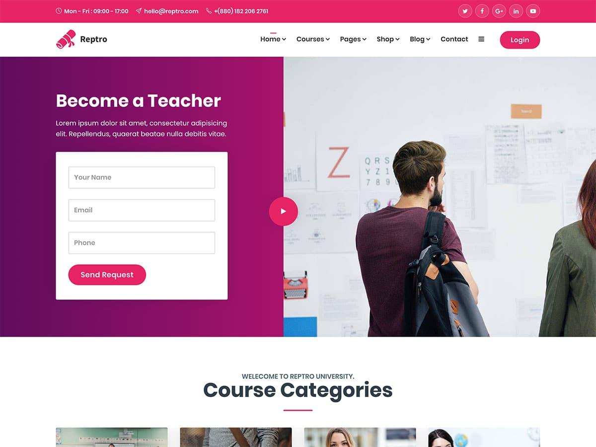15 Best Online Course Wordpress Themes 2021 Athemes