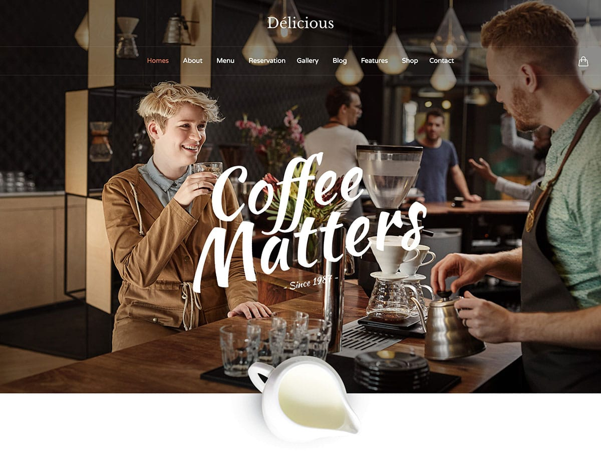 9 Best Coffee Shop Wordpress Themes 2020 Athemes