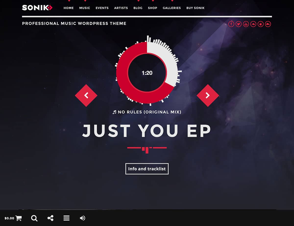 sonik-music-wordpress-theme