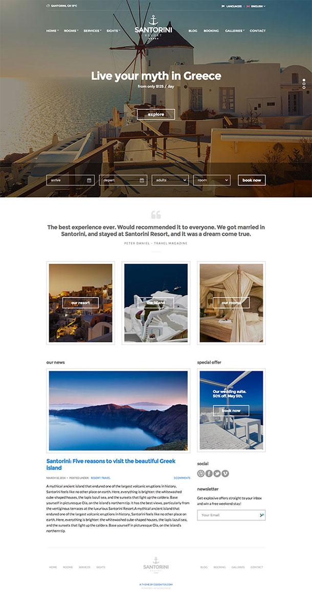 Santorini-Theme