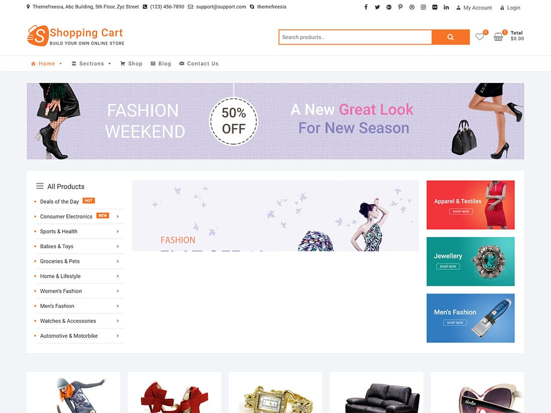 30 Best Free Ecommerce Wordpress Themes 2020 Athemes