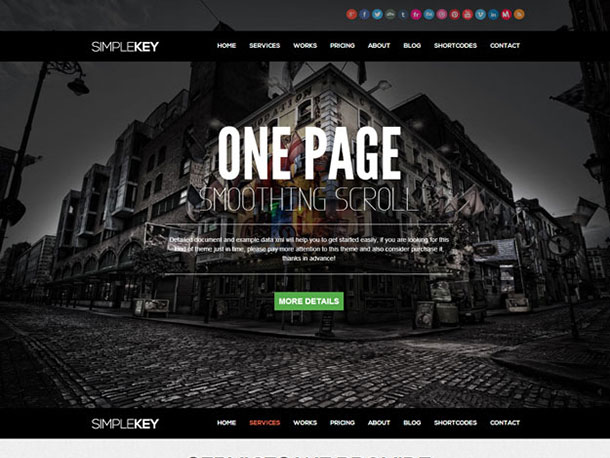 SimpleKey-one-page-portfolio-Theme