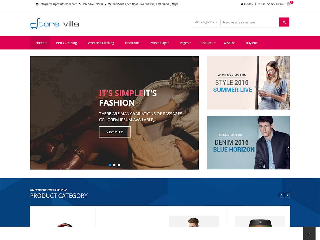 25 Best Free Woocommerce Wordpress Themes 2021 Athemes