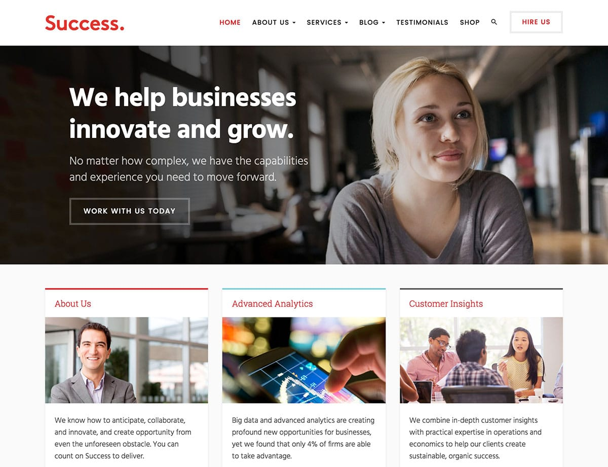 success-business-wordpress-theme