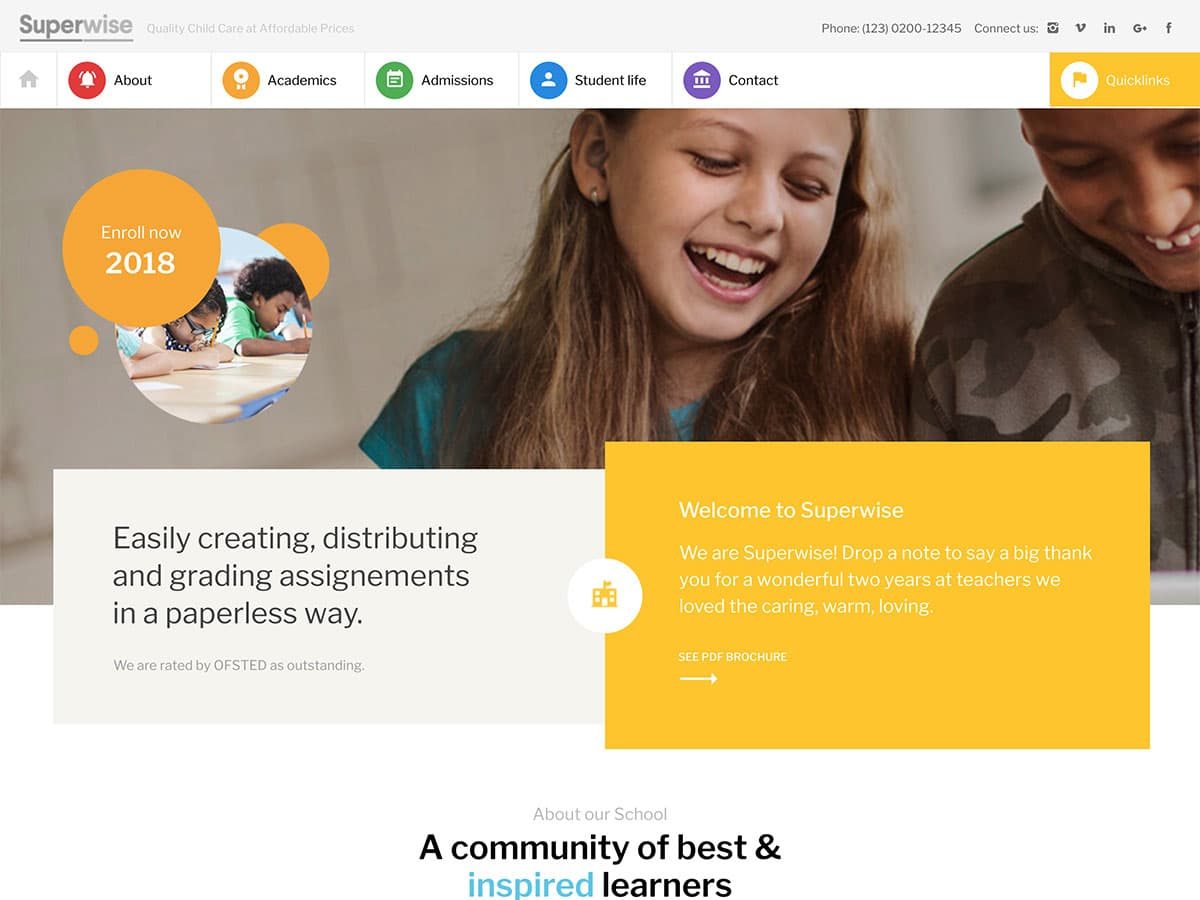 25 Best Education Wordpress Themes 2021 Athemes