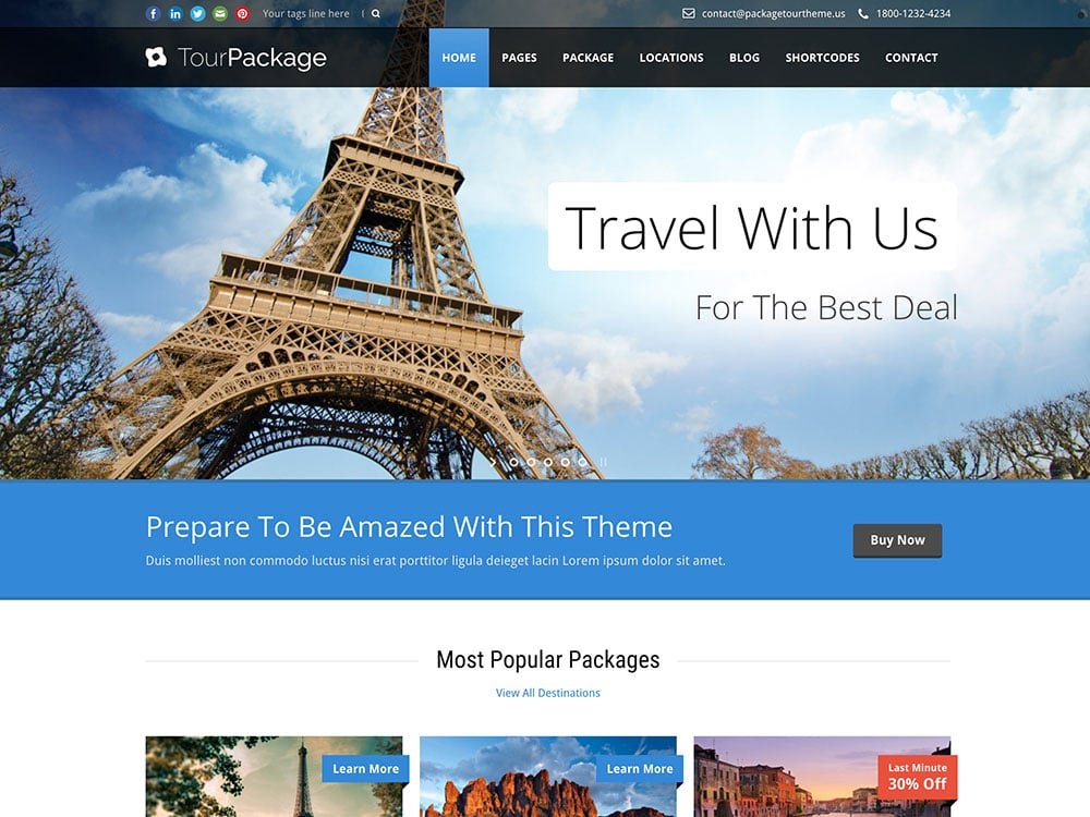 Tour-Package-wordpress-theme
