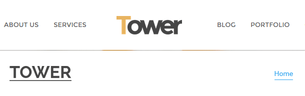 Tower Review Headers