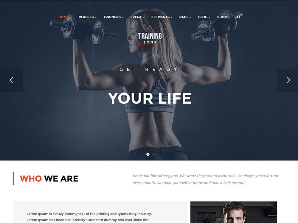 25 best wordpress fitness themes 2016 athemes