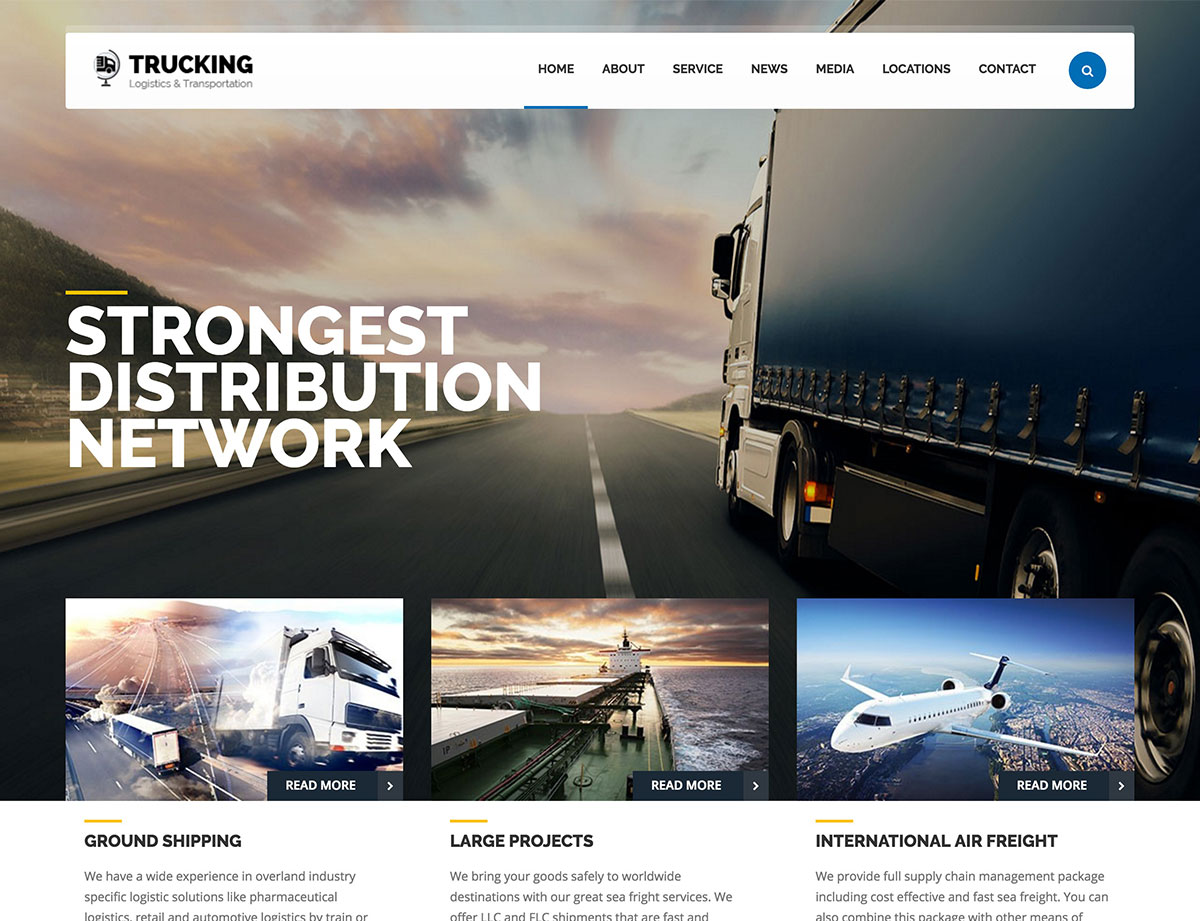 Trucking-Transportation-&-Logistics-WordPress-theme