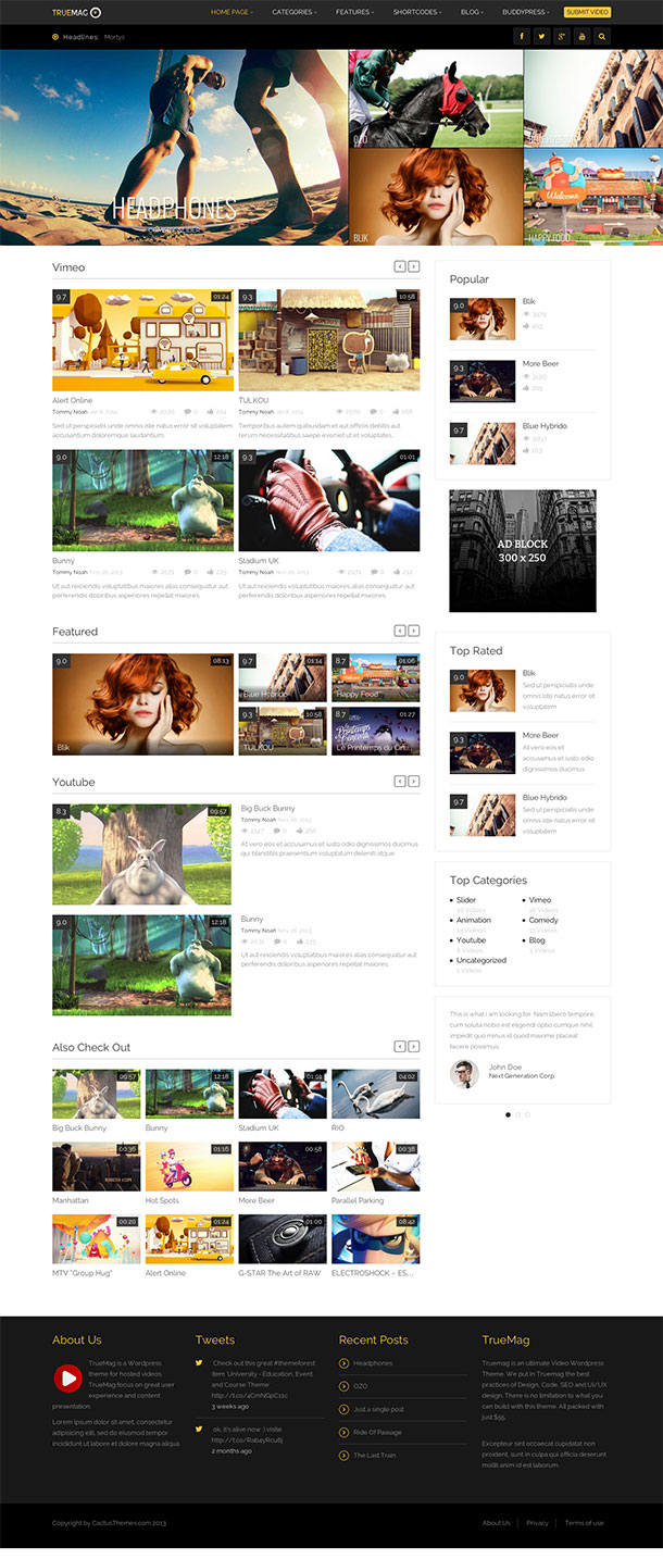 True-Mag-WordPress-Theme