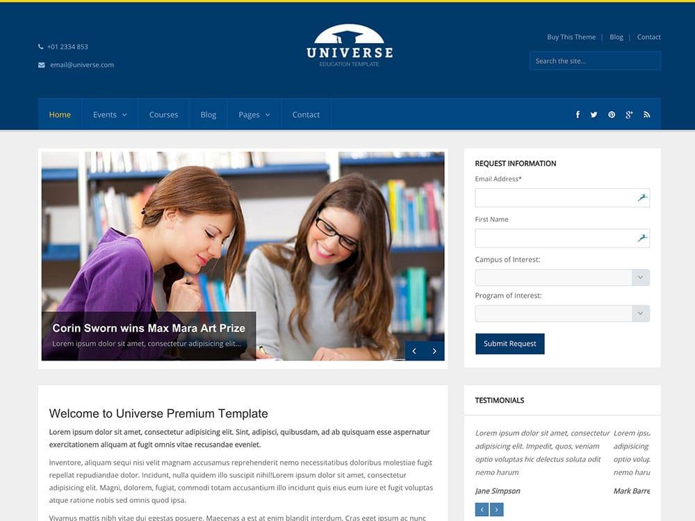 Universe-Education-WordPress-Theme