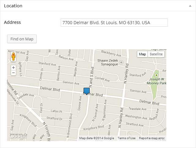 Vantage Listing Location