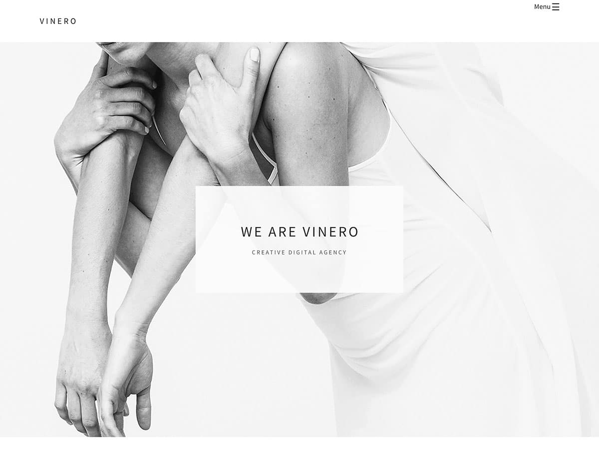 vinero-minimal-portfolio-wordpress-theme