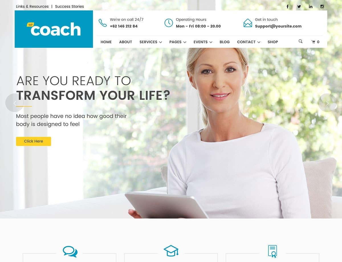 20 Best Coaching WordPress Themes 20   aThemes
