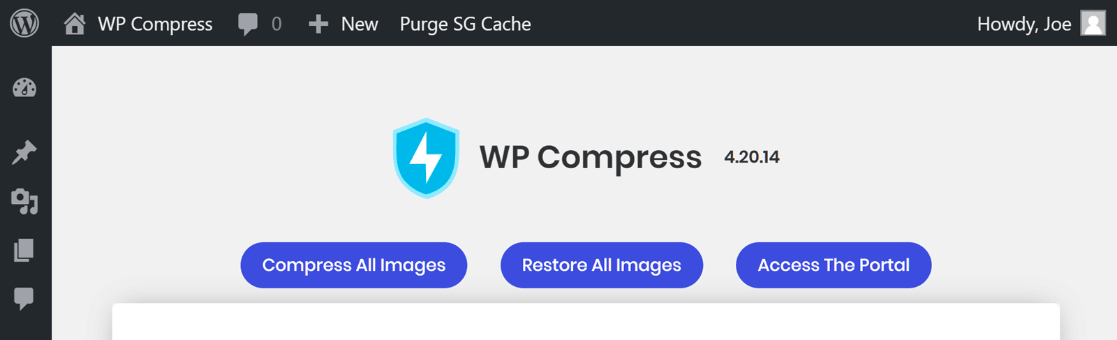 Compress All Images with WP Compress