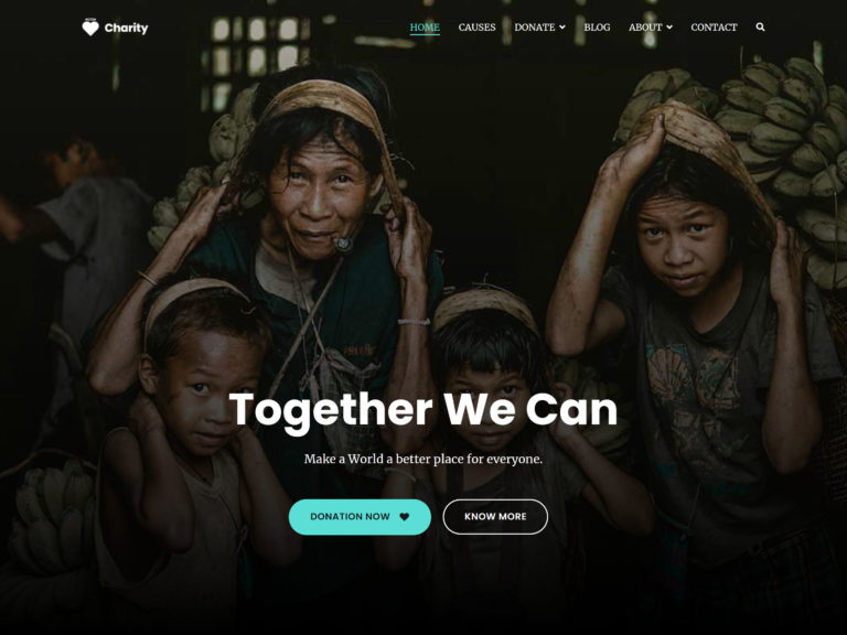 Best Free Charity WordPress Themes, featured image