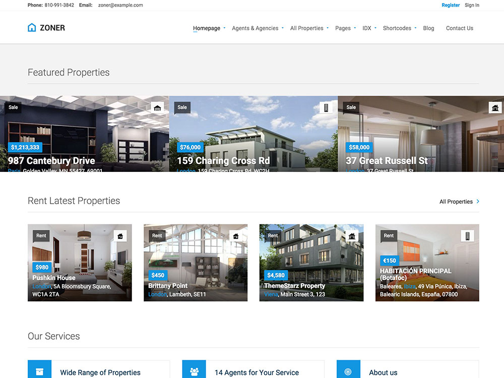 Zoner-Real-Estate-WordPress-Theme