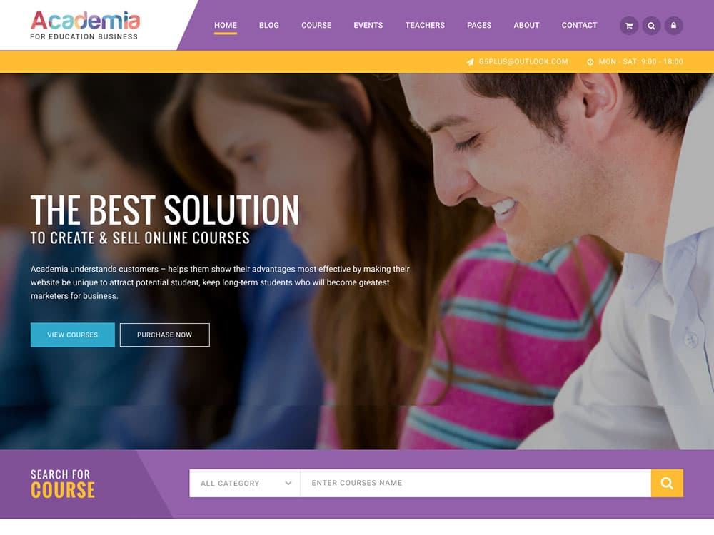 academia-wordpress-theme