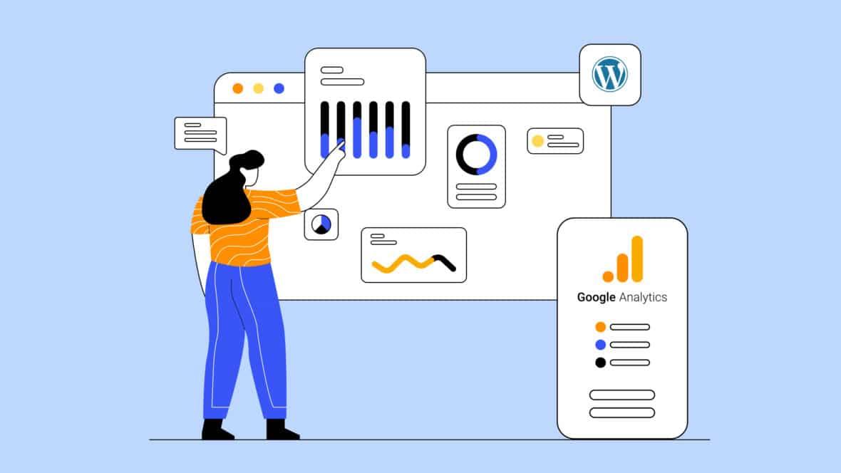 How to Add Google Analytics to WordPress, featured image