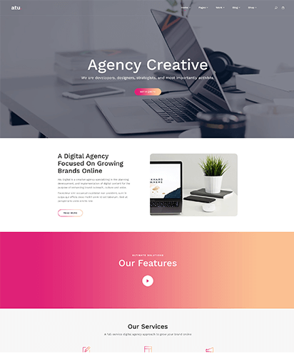 Agency template demo
