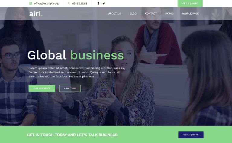 Airi is one of the fastest WordPress themes