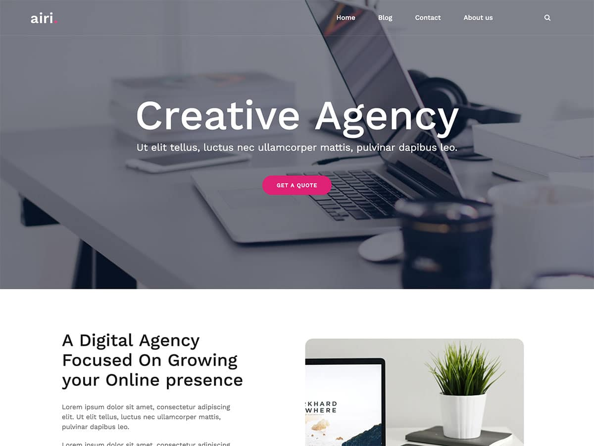 45 Best Free Responsive Wordpress Themes 2021 Athemes