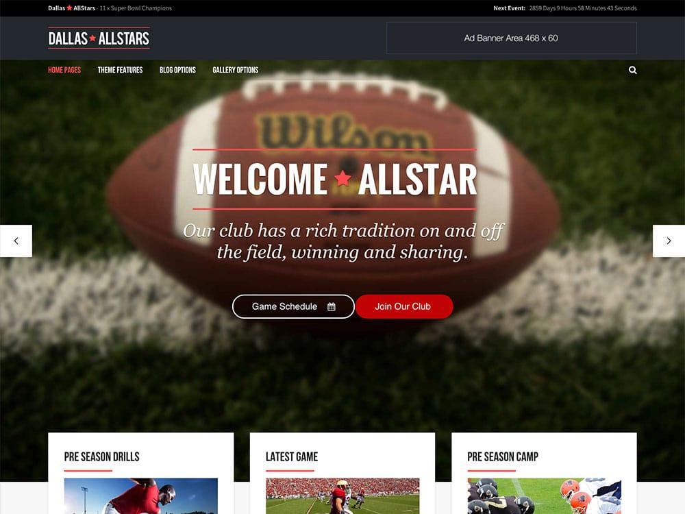 allstar-wordpress-club-theme