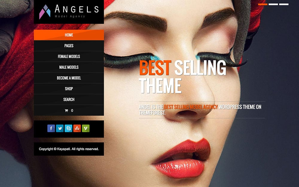 angels-model-agency-theme