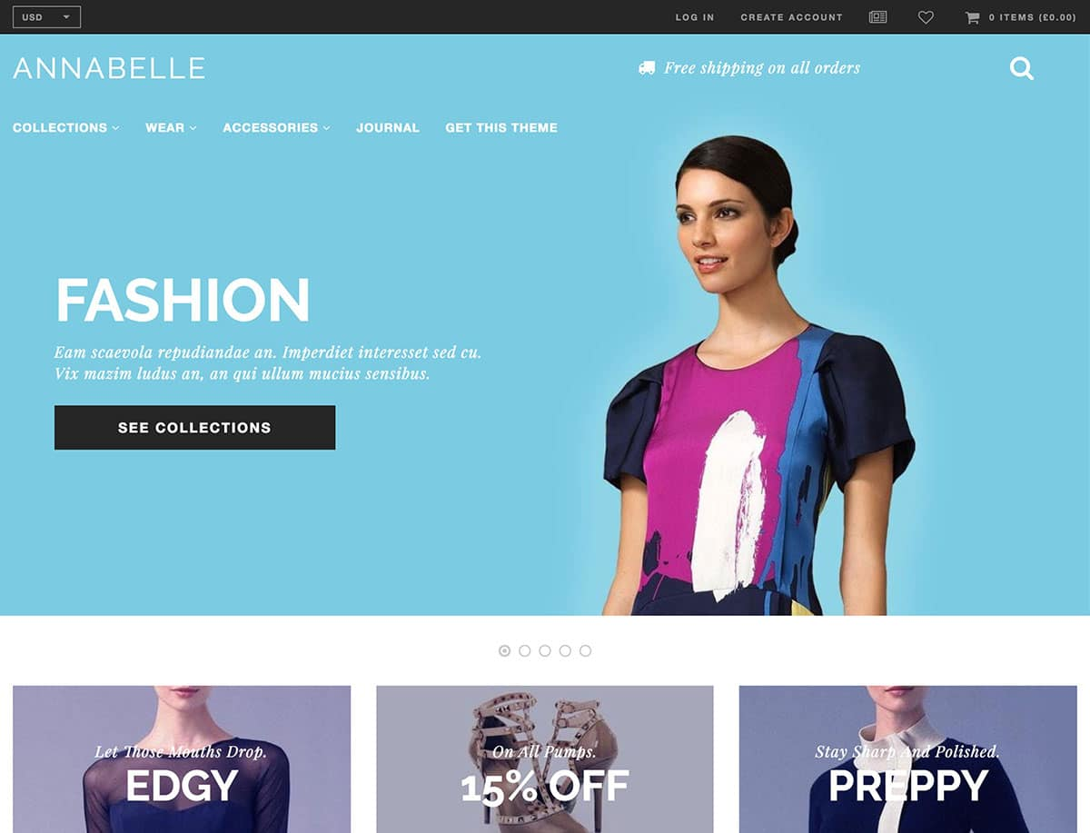 how to get free shopify themes