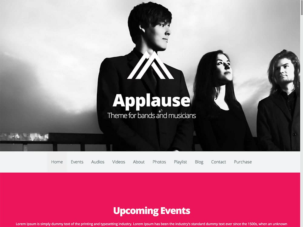 applause-theme