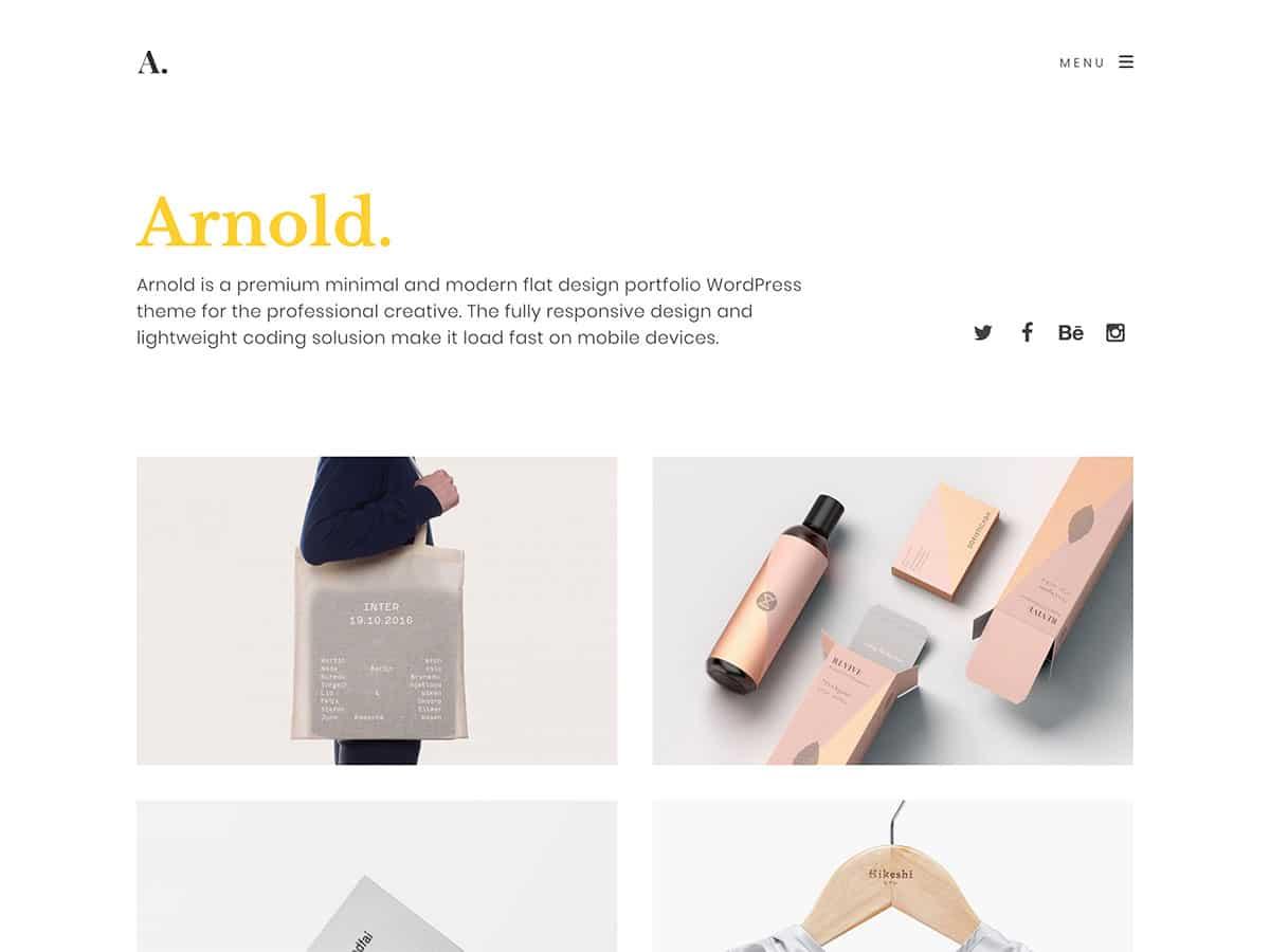 35 Best Portfolio Wordpress Themes 2020 Athemes