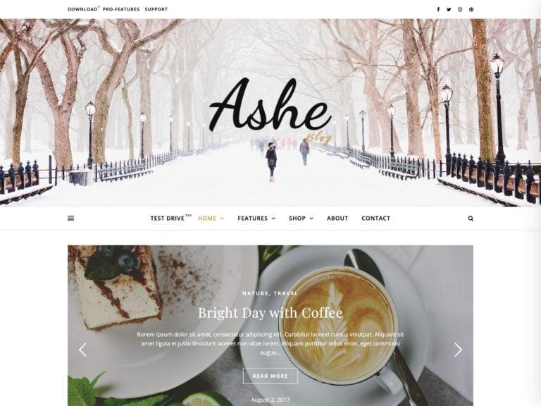 The Ashe theme.