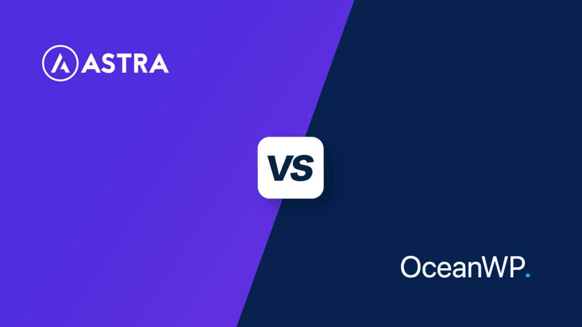 Astra vs OceanWP, featured image