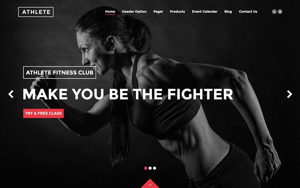 athlete-wordpress-theme