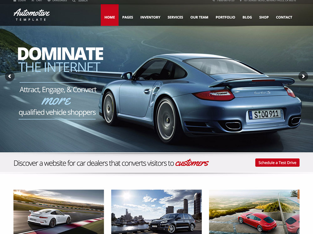 15 Best Car Dealer Wordpress Themes 2016 Athemes