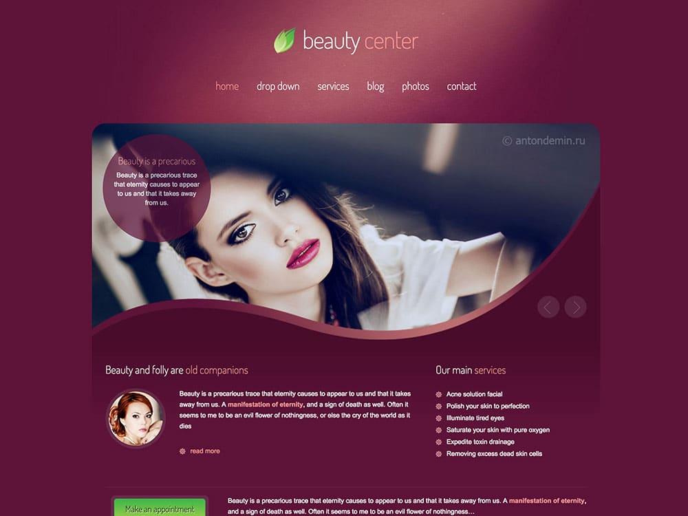 beauty-center-wordpress-theme