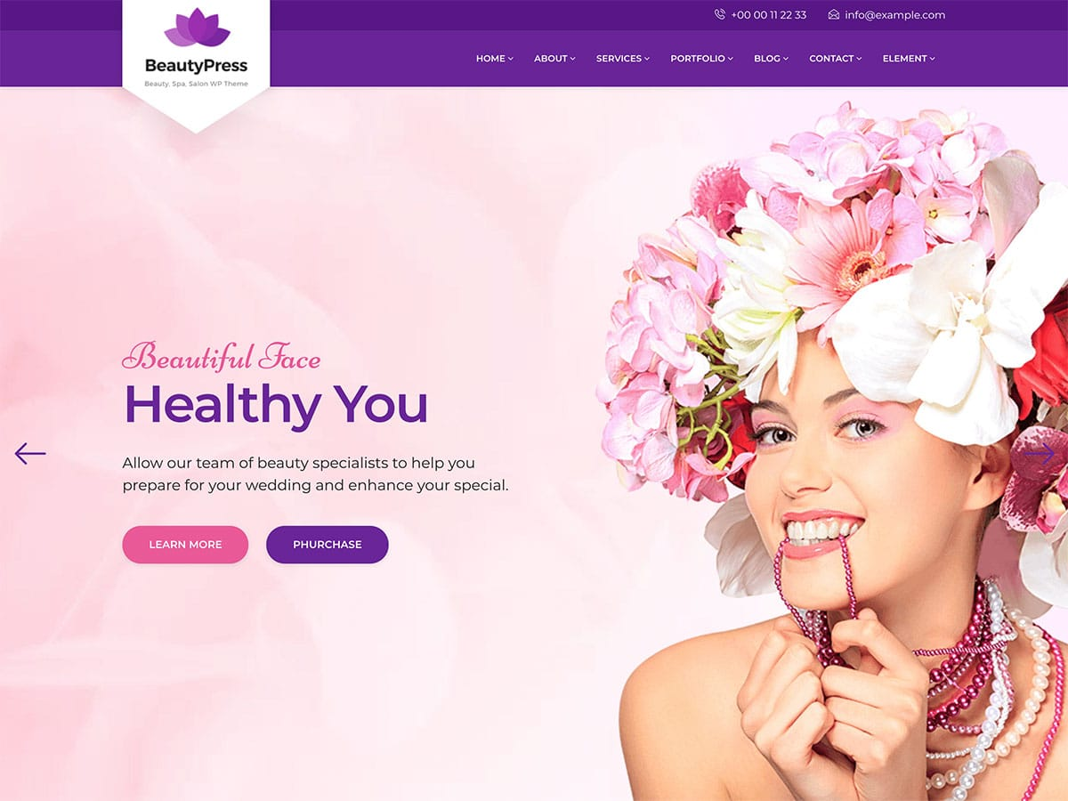 19+ Best Spa, Beauty & Hair Salon WordPress Themes 19