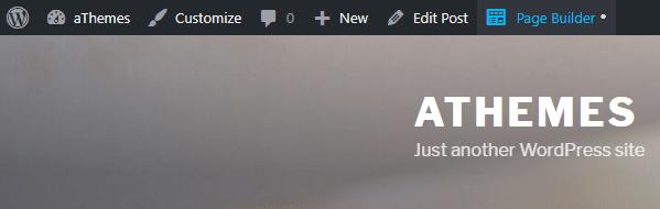 Admin Bar Editor Link