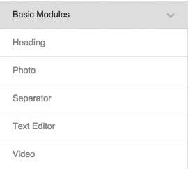 Beaver Builder Basic Modules