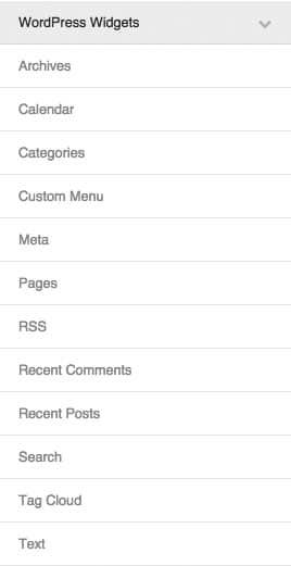 Beaver Builder WordPress Widgets